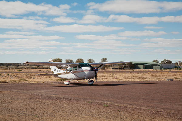 The Outback Runabout at William Creek